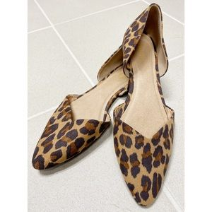 Old Navy Leopard Flats - 8